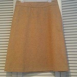 Aline tweed wool skirt